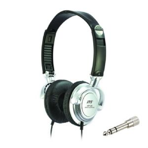 JTS HP-20 Professional Foldable Wired Studio Headphones Live DJ Gaming + Adaptor